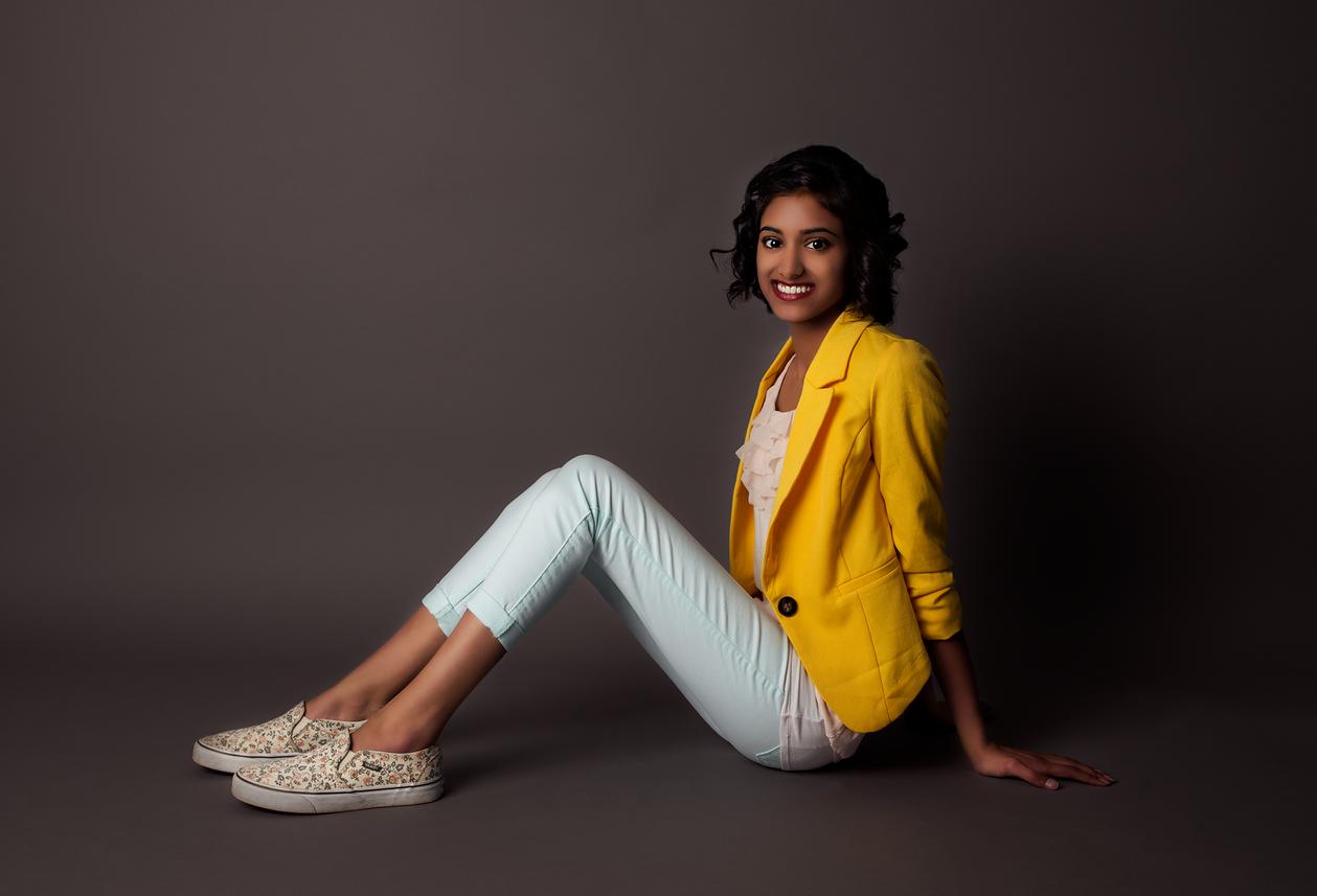Lily | Senior Portrait Studio Session | Cambridge-Minneapolis, MN Senior Portrait Photographer