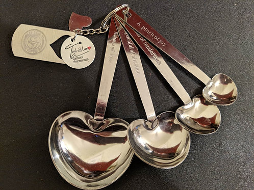 Tanner's Sweetheart Measuring Spoons