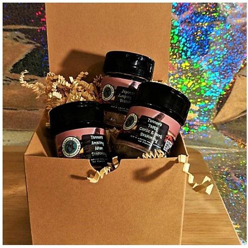 6 jar sampler pack in gift box