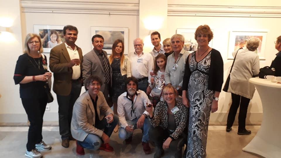 Met Liliane Goossens, Prafull Sawant, Igor Sava, Atanur Dogan, Asuman Ongun Dogan, Ilya Ibryaev, Ian Wright, Alexandra Bryksa, Jan Min en Carla de Korte-Bramsen.