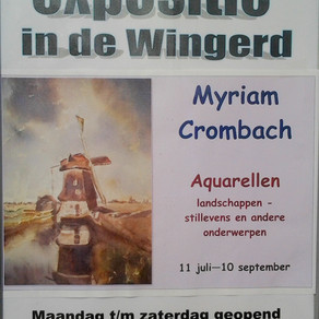 Myriam Crombach exposeert