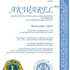 'Prijs voor Akwarel' -