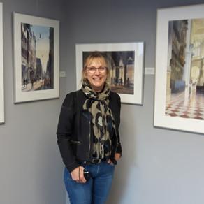 Hannie Rieuwerts in Museum Thijnhof