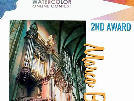 international online watercolor contest