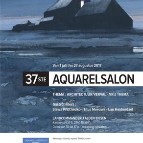37e aquarelsalon AIB
