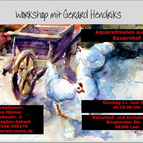 nieuwe workshop Gerard Hendriks