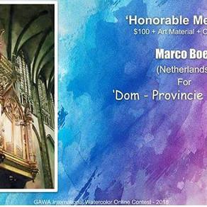 Marco Boer wint prijs in online wedstrijd