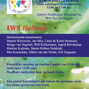 eerste expositie van IWS Holland!