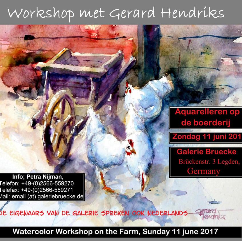 Workshop 2017 11 juni Galerie Bruecke