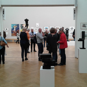opening expositie Hollandse aquarellistenkring