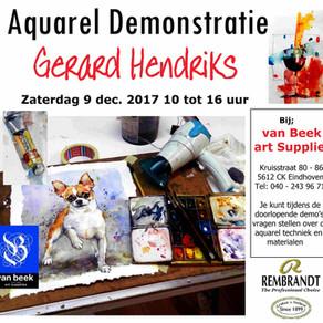 demonstraties Gerard Hendriks