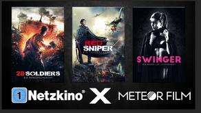 Meteor Films x Netzkino: Spannende, neue Titel zum Herbstbeginn