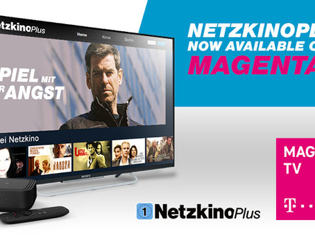 NetzkinoPlus now available on MagentaTV