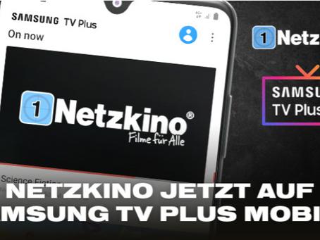 Netzkino bei Samsung TV Plus jetzt auch mobil nutzbar