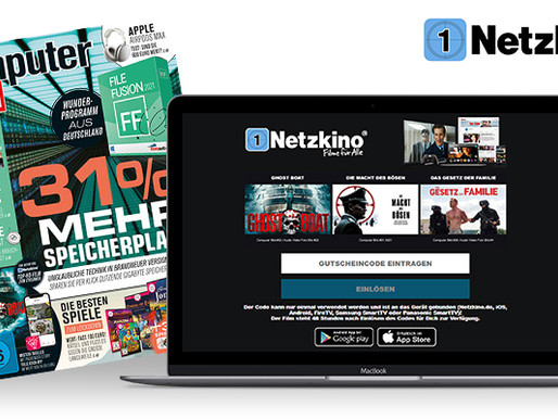 Netzkino continues digital voucher campaign with COMPUTER BILD and 26 films in 2021