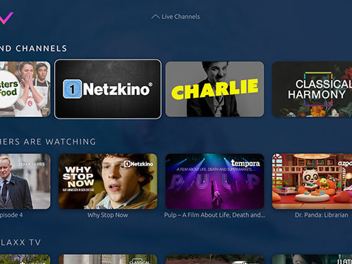 Spotfilm Networx launches 4 channels on the streaming platform rlaxx TV