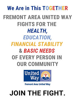 Fremont Area United Way FIGHTS FOR THE H