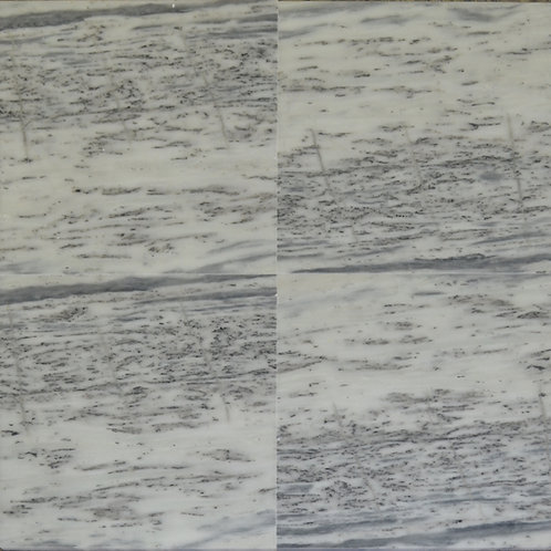 "Zebra Polished 24"" x  24"" Marble Tile"
