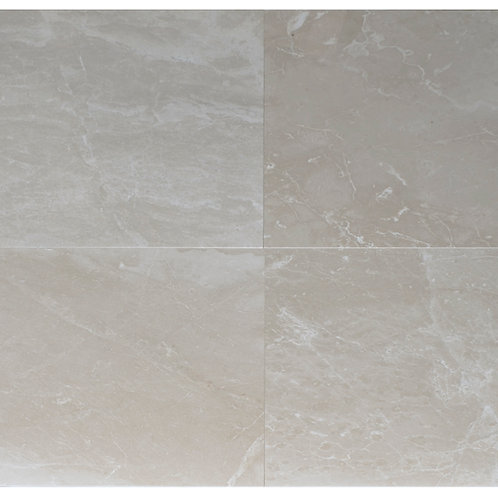 "Botticino B Polished 24"" x 24"" Marble Tile"