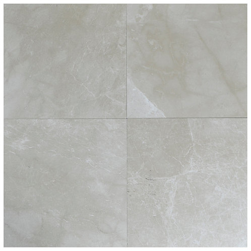 "Botticino Polished 18"" x 18"" Marble Tile"