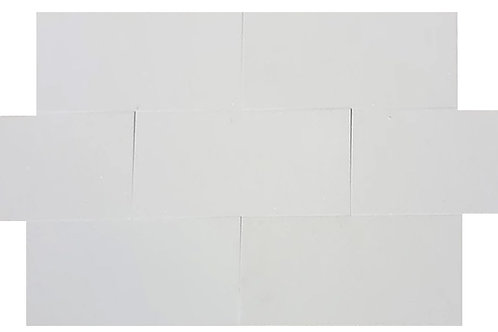 "Thassos Polished 12"" x 24"" Marble Tile"