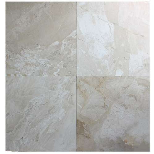 "Venice Antique Polished 24"" x  24"" Marble Tile"