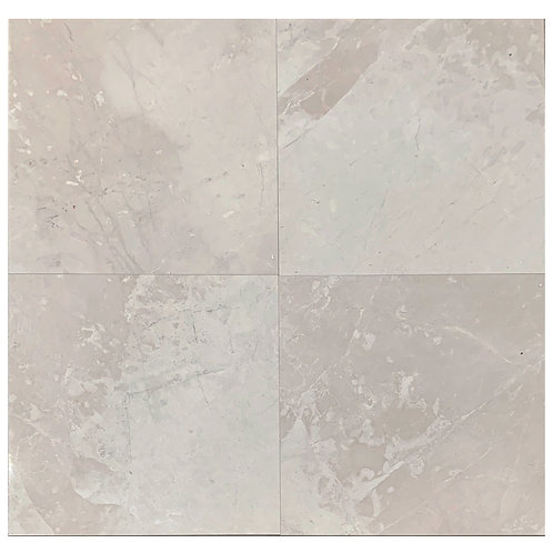 "Naturella B Polished 18"" x 18"" Marble Tile"