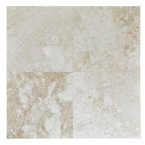 """Cappucino Antique Polished 18"""" x 18"""" Marble Tile"""