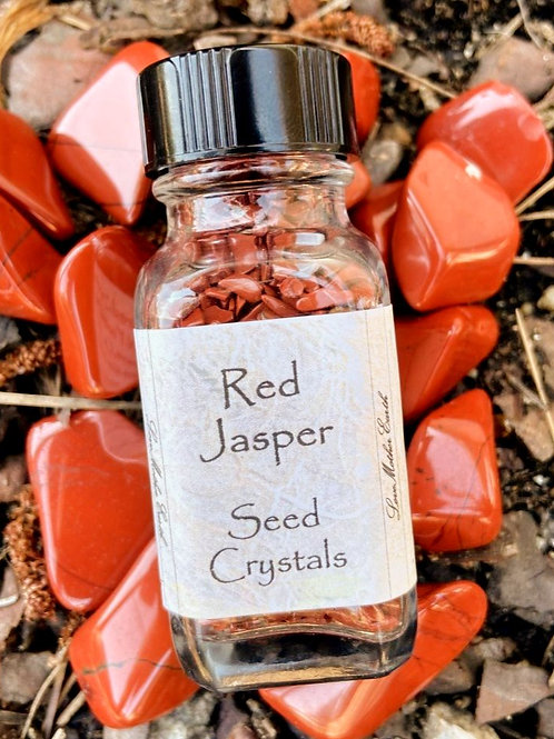 Red Jasper Seed Crystals