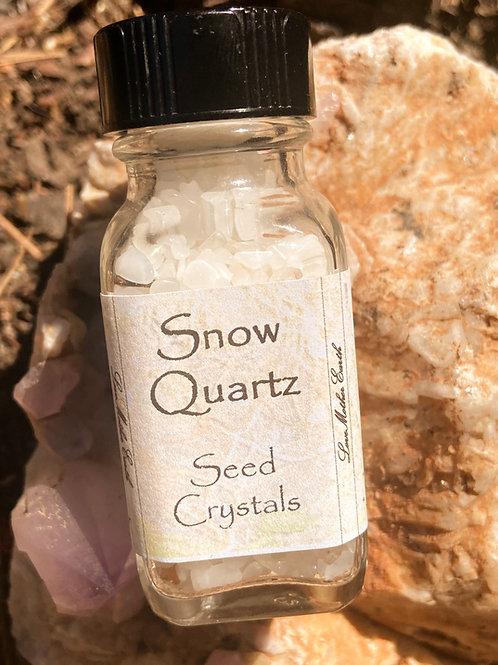 Snow Quartz Seed Crystal