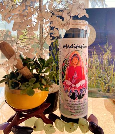 Meditation Candle
