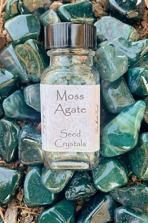 Moss Agate Seed Crystal
