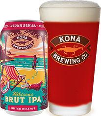 KO Aloha Series Hibiscus Brut IPA 12oz c
