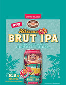 KO Hibiscus Brut off-prem case card 8.5x