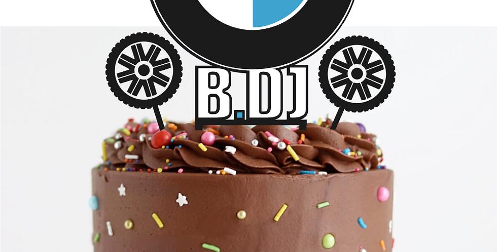 Topper Cake  Personalizzato BMW