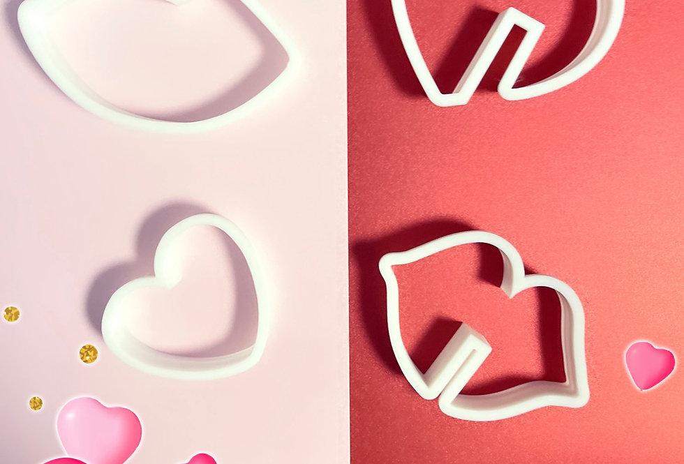 set tagliabiscotti San Valentino