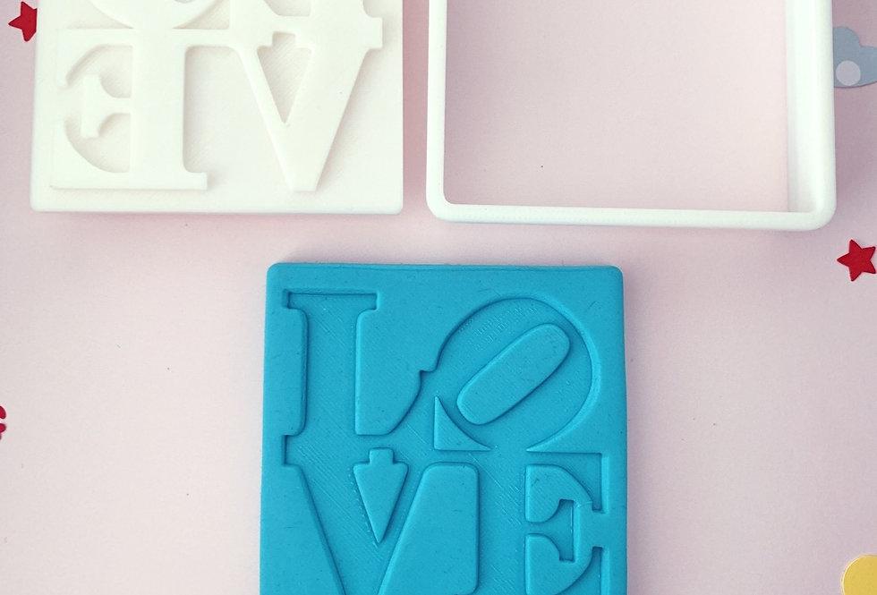 Tagliabiscotti e stampa San Valentino Love
