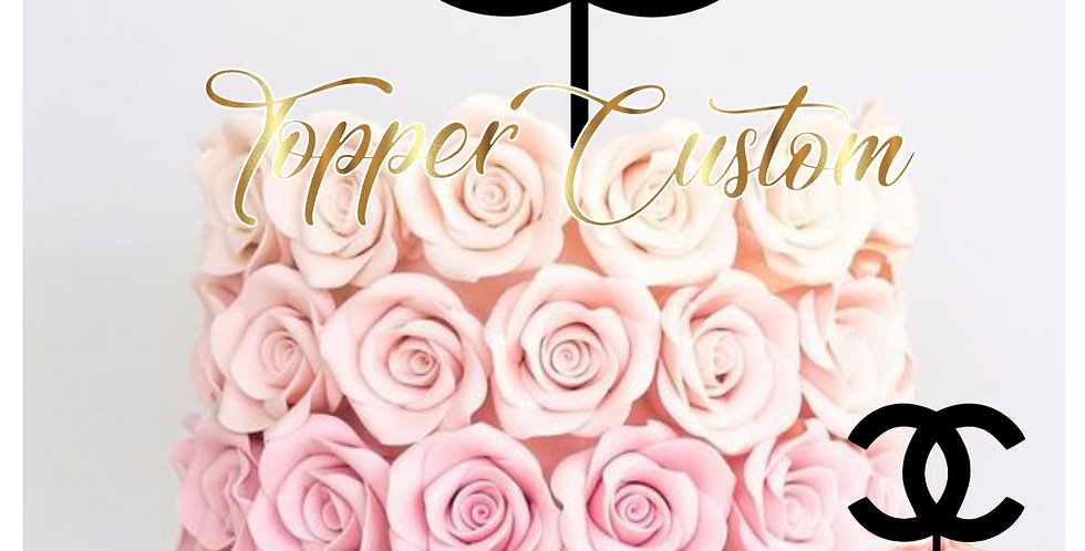 Toppers Cupcakes Chanel