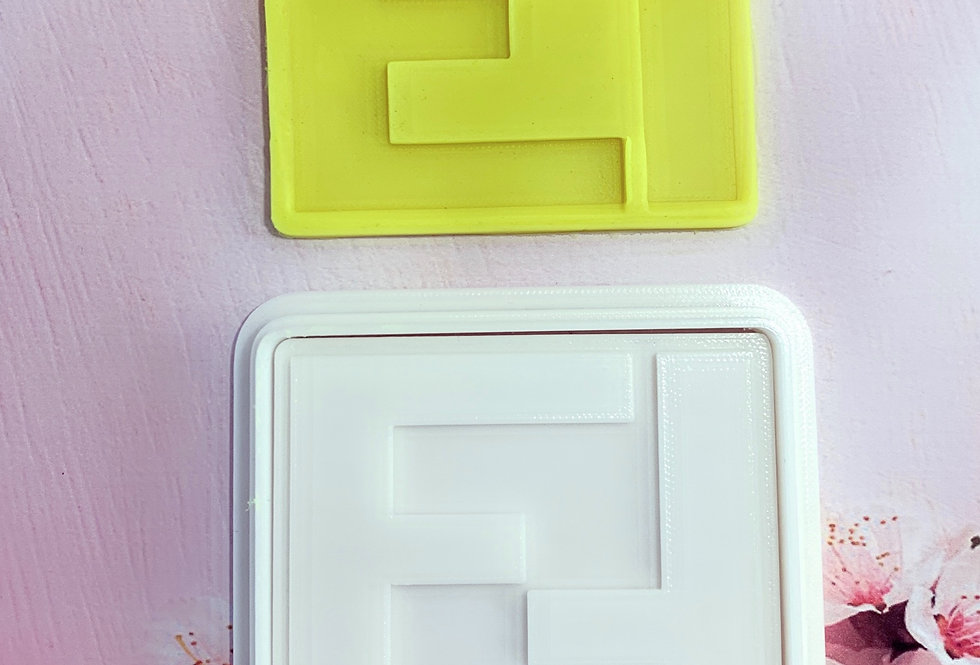 Set taglierina -stampo Logo Fendi