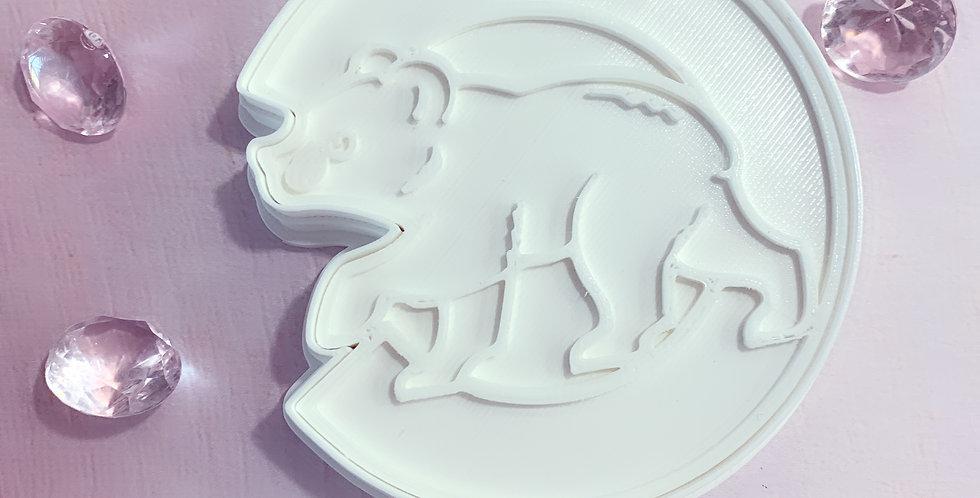 set ditaglierina- stampo logo Cubs