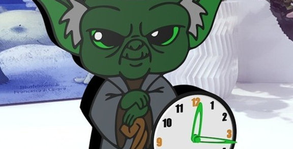 File STL orologio Star Wars Yoda