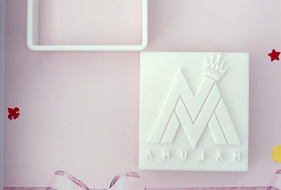 set ditaglierina- stampo Logo Maluma