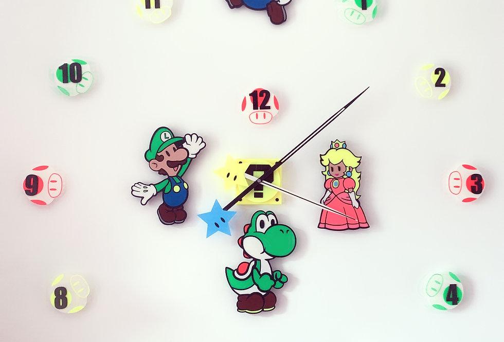 Orologio Gigante Mario Bross