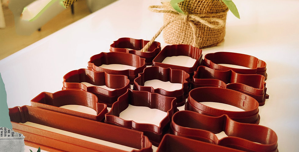 Multi Taglia biscotti di frami x 13