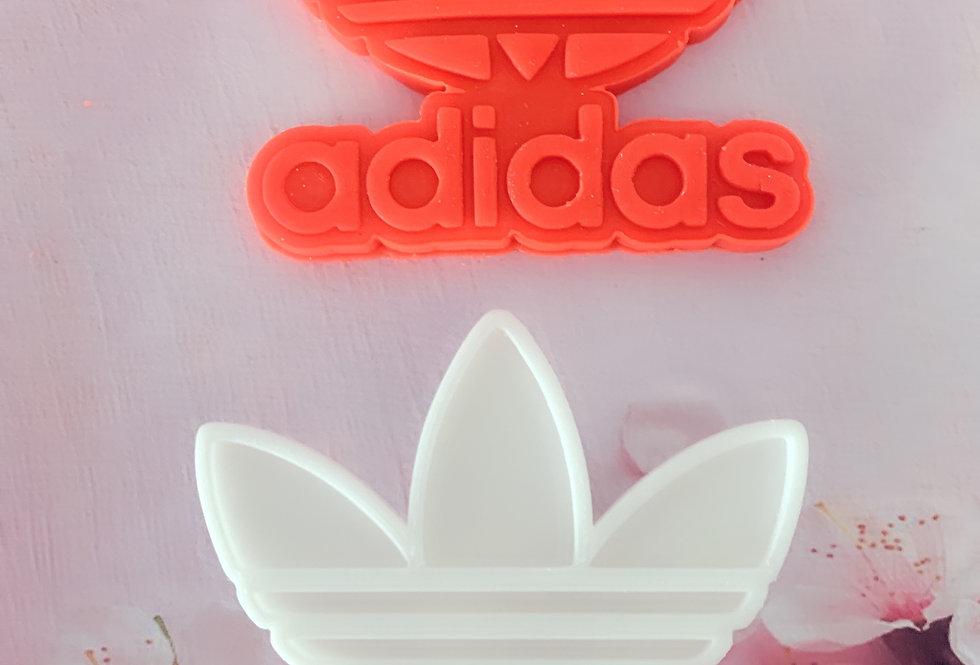 set taglierina- stampo logo adidas