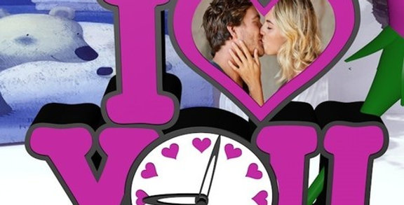 Orologio personalizzato LOVE