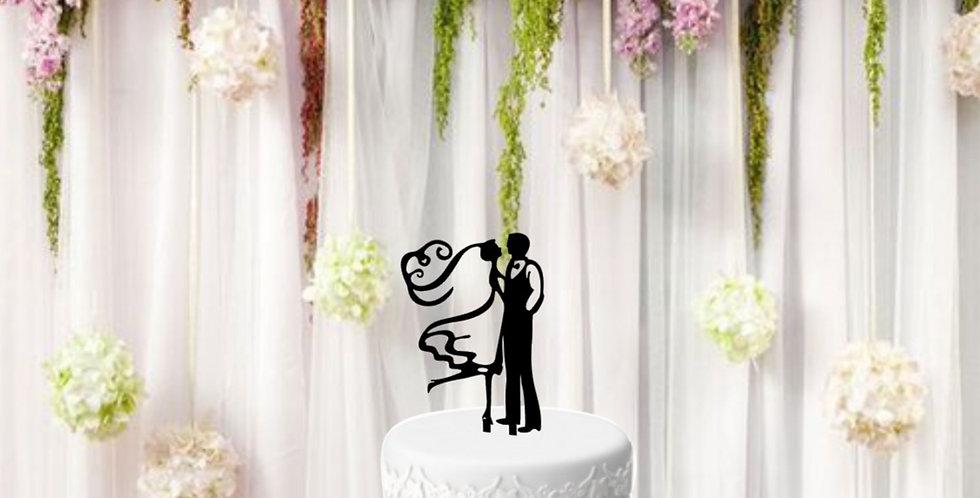 Topper per torta Just Married