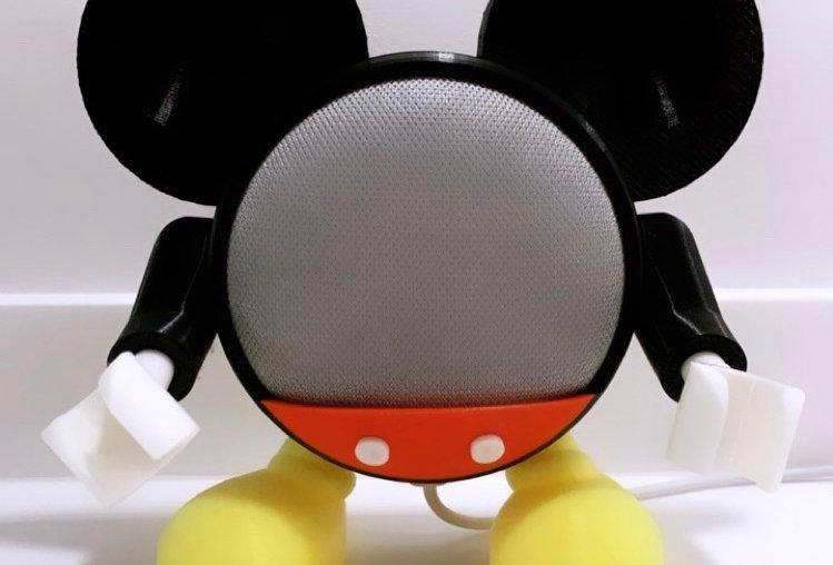 Base per Mini google Home Mickey Mouse