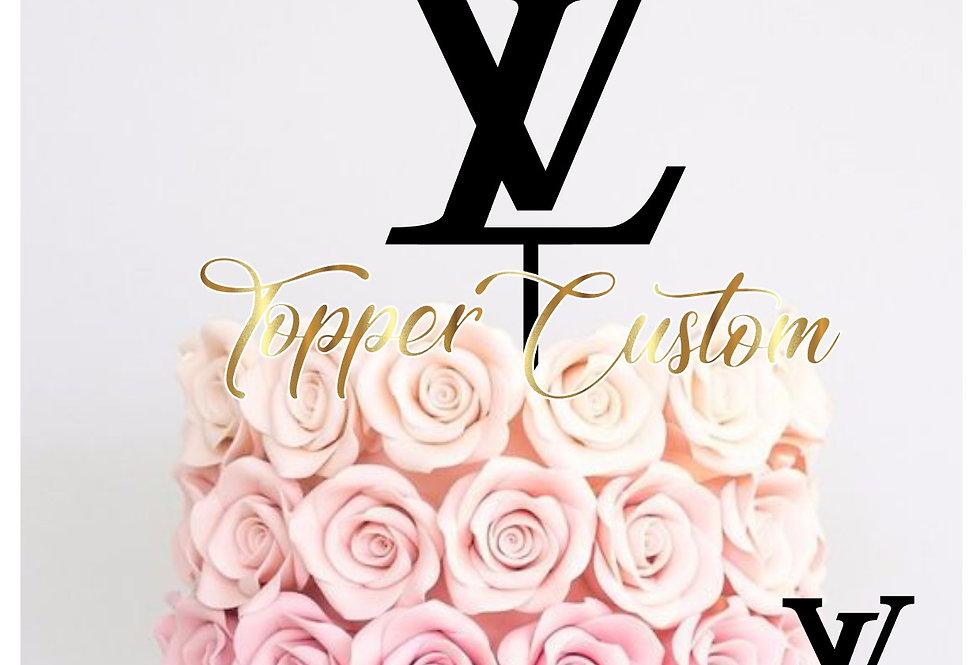 Topper  per torta  di LV