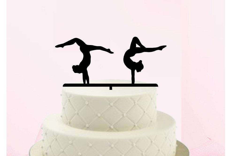 Topper Cake Ginnastica artistica